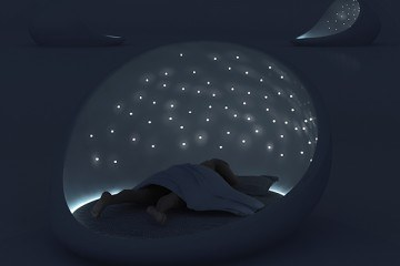 The Cosmos Bed Is Dreamy