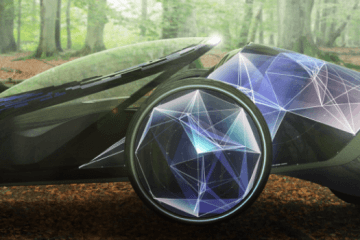 FV2: Tron-Like Concept Car by Toyota