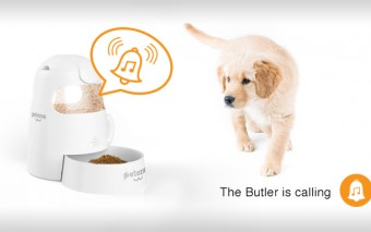 Pet Butler: Smartphone Compatible Smart Pet Feeder