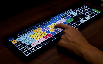 EditorsKey Backlit Shortcut Editing Keyboard
