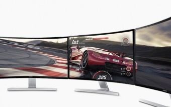 Samsung 27″ Curved LED Monitor S27D590