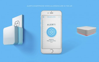 Airwave Connected Sensor Monitors Air Quality