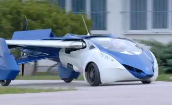 AeroMobil 3.0 Flying Car In Action