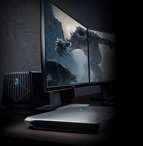 Alienware Graphics Amplifier In Action