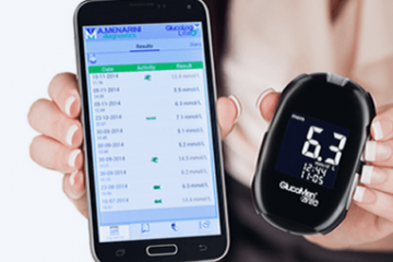 GlucoMen Areo Blood Glucose Meter with NFC