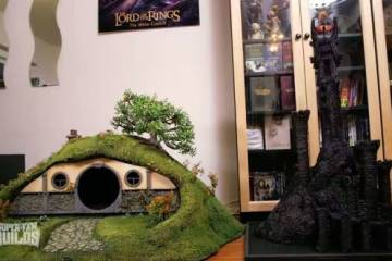 Lord of the Rings Litter Box & Scratching Post