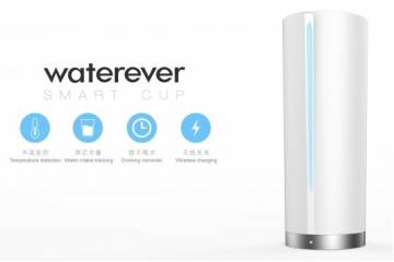 Waterever Smart Cup Keeps You Hydrated