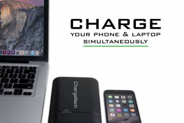 ChargeAll: Portable AC Power Outlet