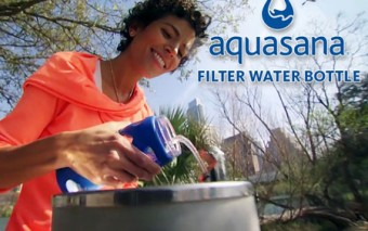 Aquasana Filter Bottle for a Cleaner Water