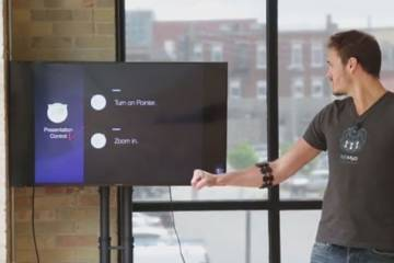Using Myo Armband to Deliver Presentations