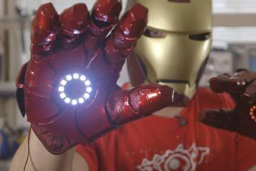 How To Build a Bionic Iron Man Glove