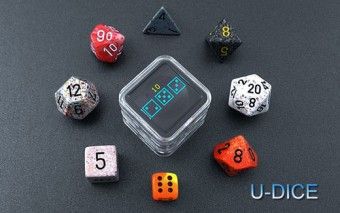U-DICE: Electronic Dice for Games