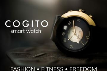 COGITO FIT: Elegant Smartwatch w/ Interchangeable Plug-ins