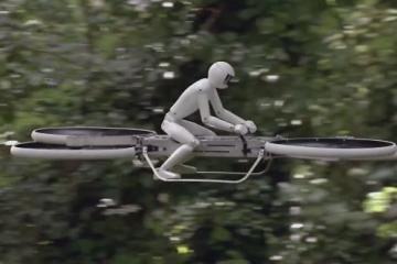 P2 Hoverbike Can Lift a 100kg Person