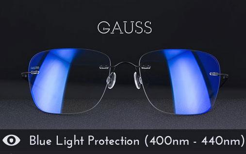 Gauss Glasses Computer Glasses W Blue Light Protection
