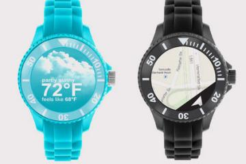 element1: Smartwatch Charged Through Movement