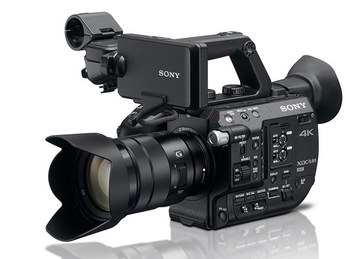 Sony PXW-FS5 Camera for 4K Recording