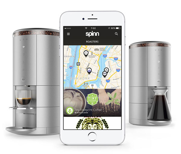 Smart Home Coffee Maker : Spinn Connected Coffee Machine for Your Smart Home